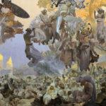 アルフォンス・ミュシャ / スラヴ叙事詩 ルヤナ島のスヴァントヴィト祭 ─ 神々が戦う時、救いは芸術にある