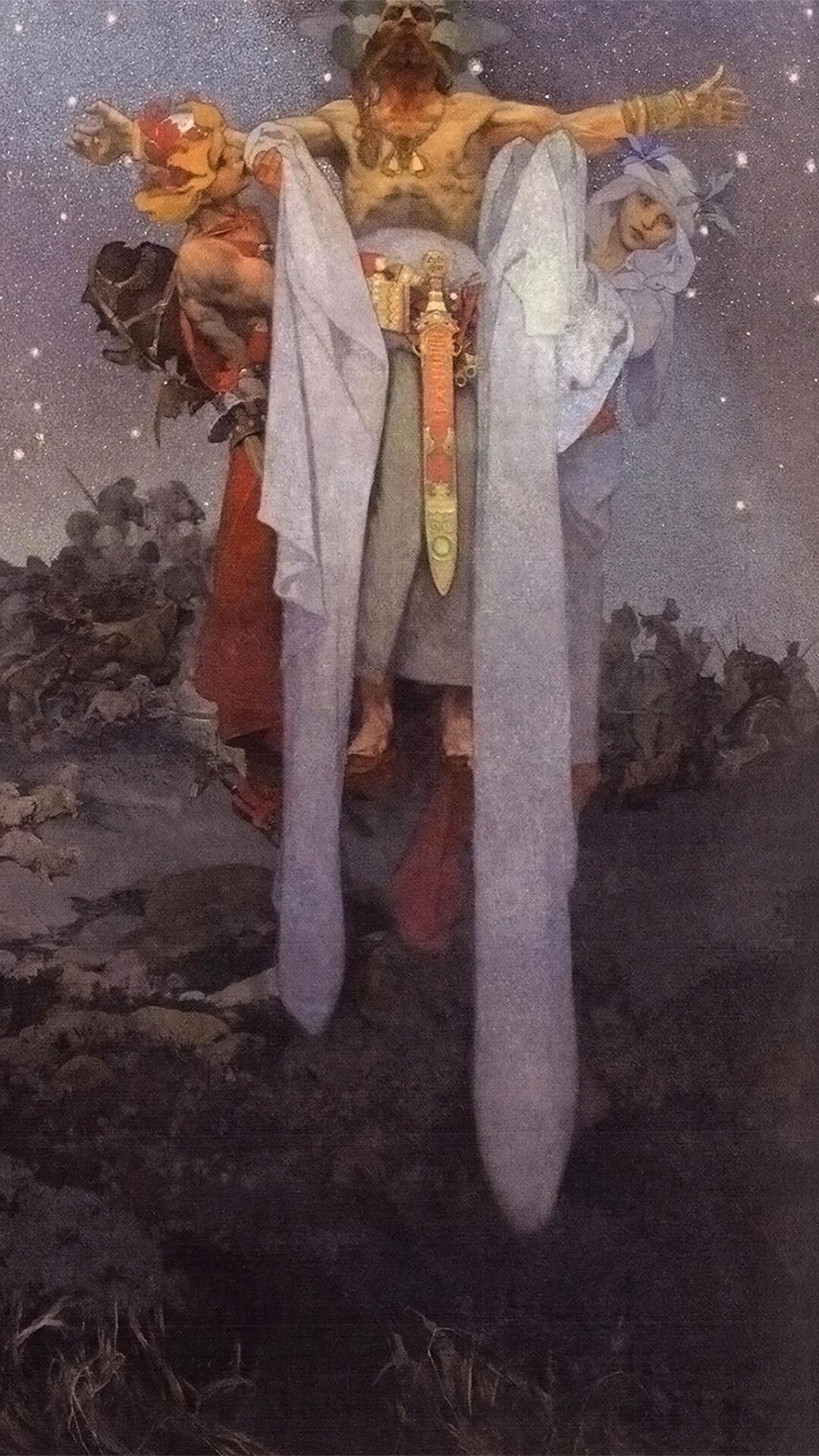 Alfons Mucha アルフォンス・ミュシャ / スラヴ叙事詩1 故郷のスラヴ人