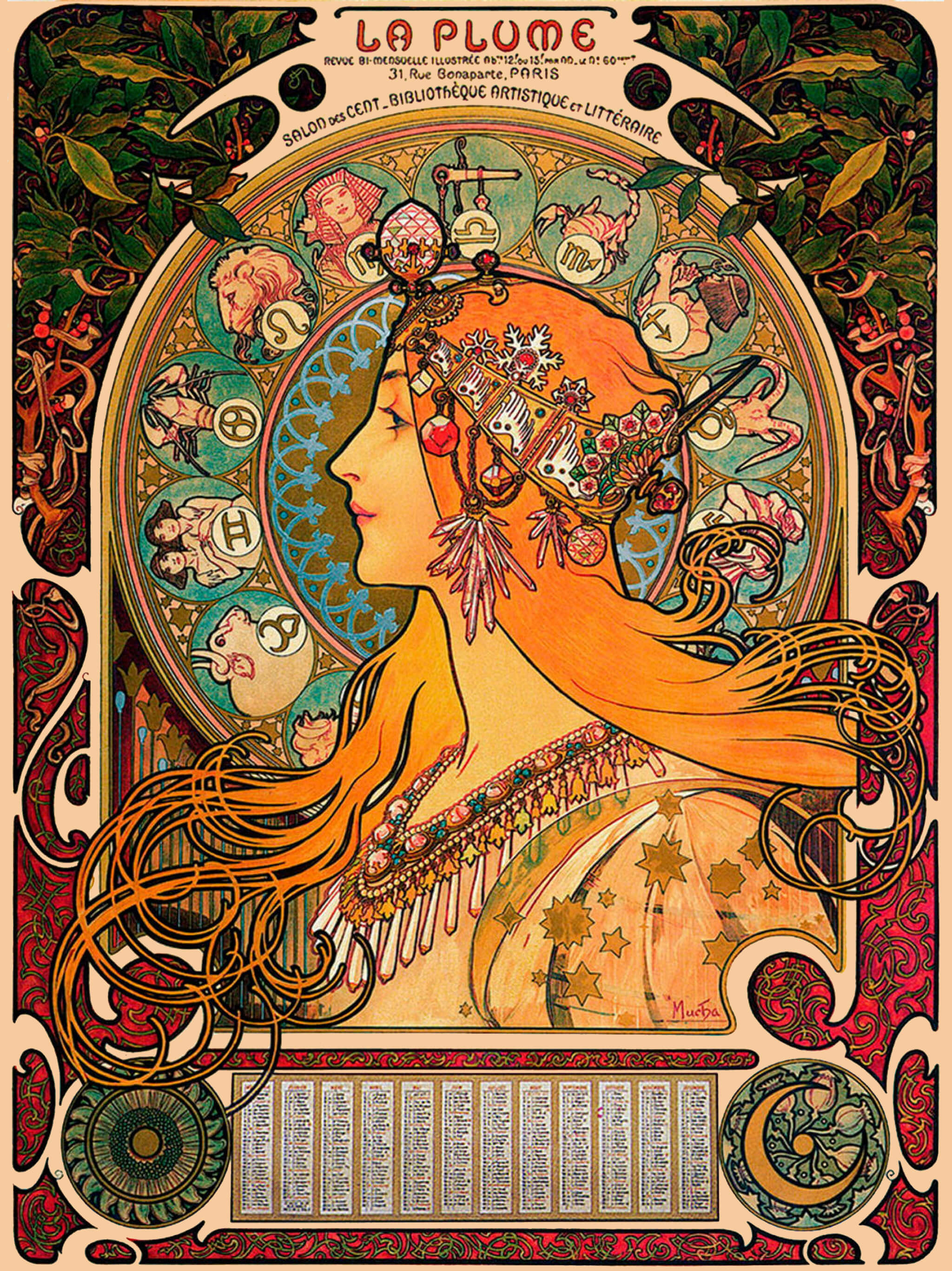 Alphonse Mucha-Zodiac_2048x2732