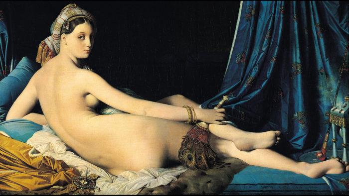 Dominique Ingres-La Grande Odalisque_1920x1080