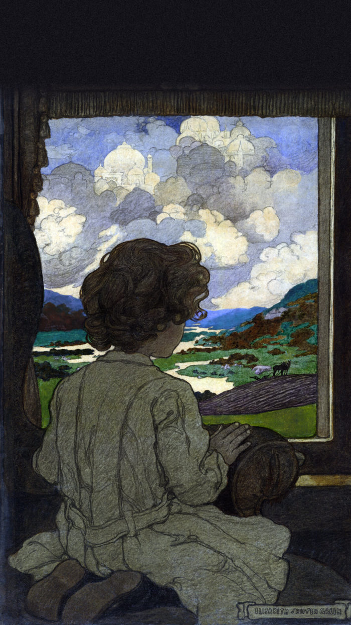 Elizabeth Shippen Green-The Journey_1080x1920