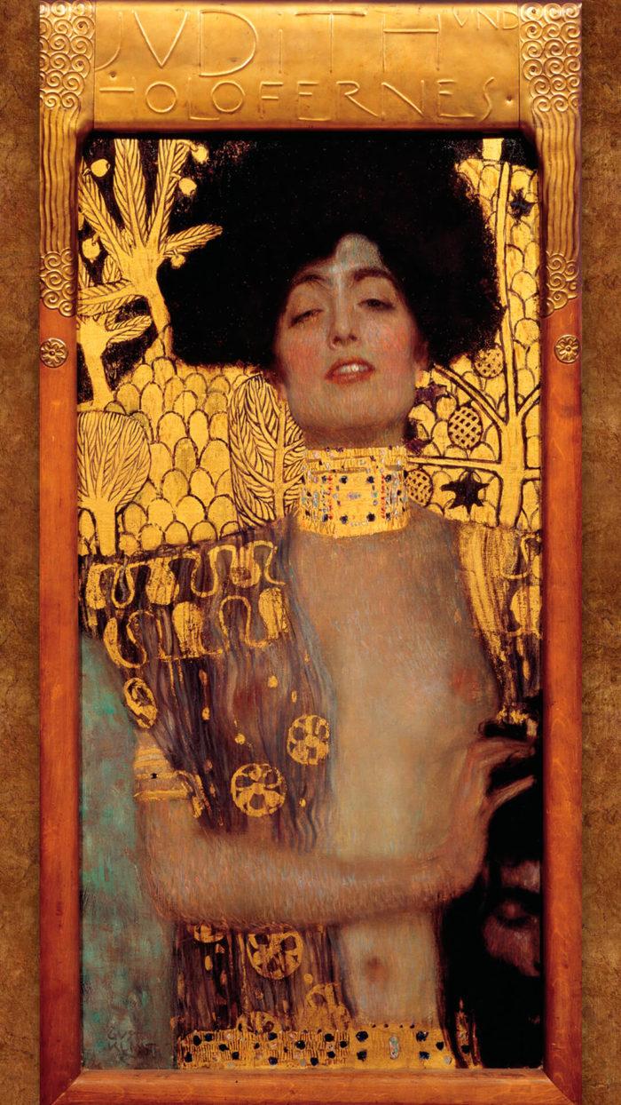 Gustav Klimt-Judith I_1080x1920