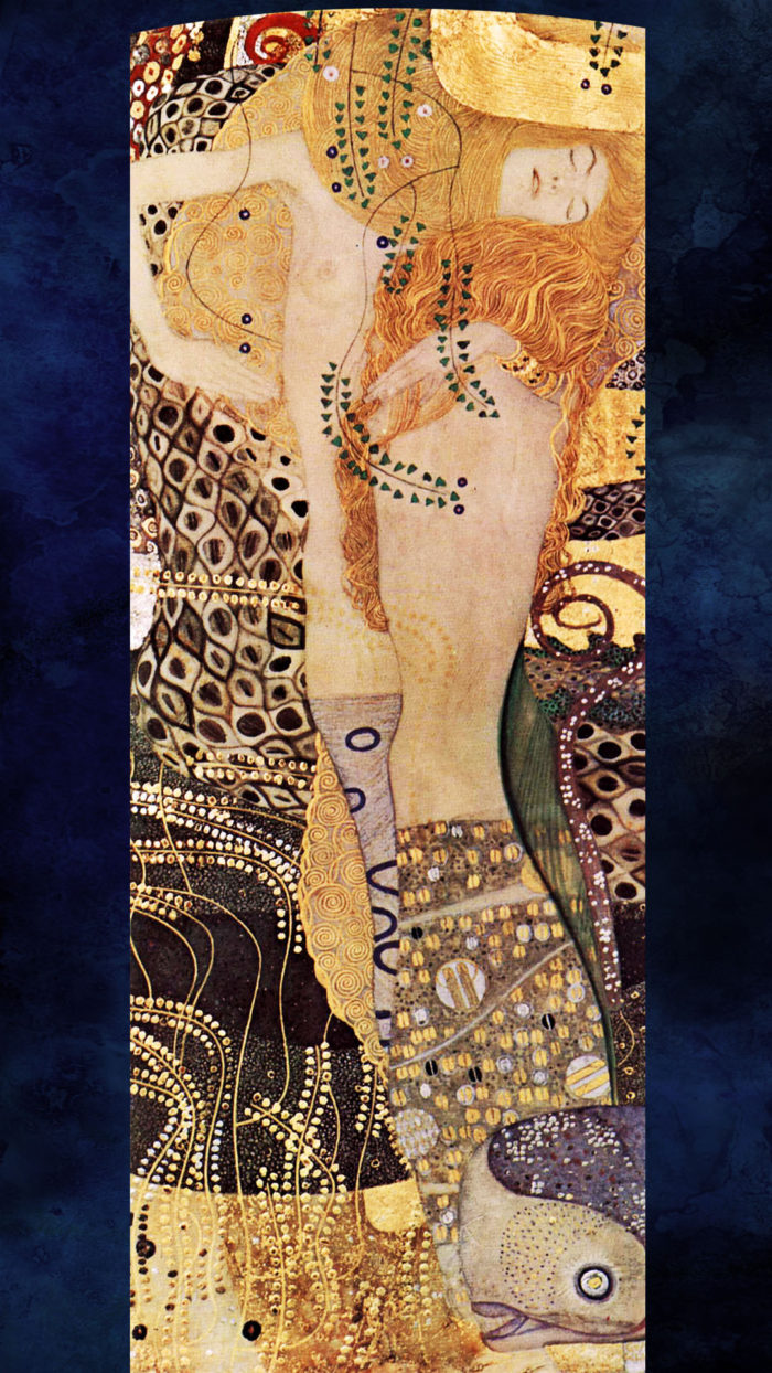 Gustav Klimt-Water Serpents_1080x1920 2