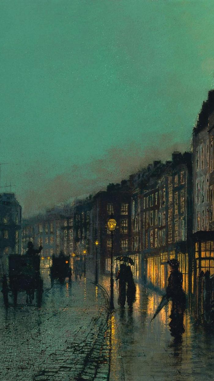 John Atkinson Grimshaw -City Docks by Moonlight_1080x1920
