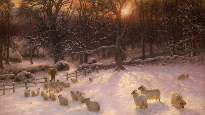 Joseph Farquharson-Beneath the Snow Encumbered Branches_1920x1080