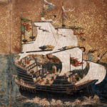 狩野派 / 南蛮船図屏風