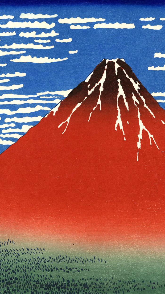 Katsushika Hokusai-Gaifu kaisei_1080x1920