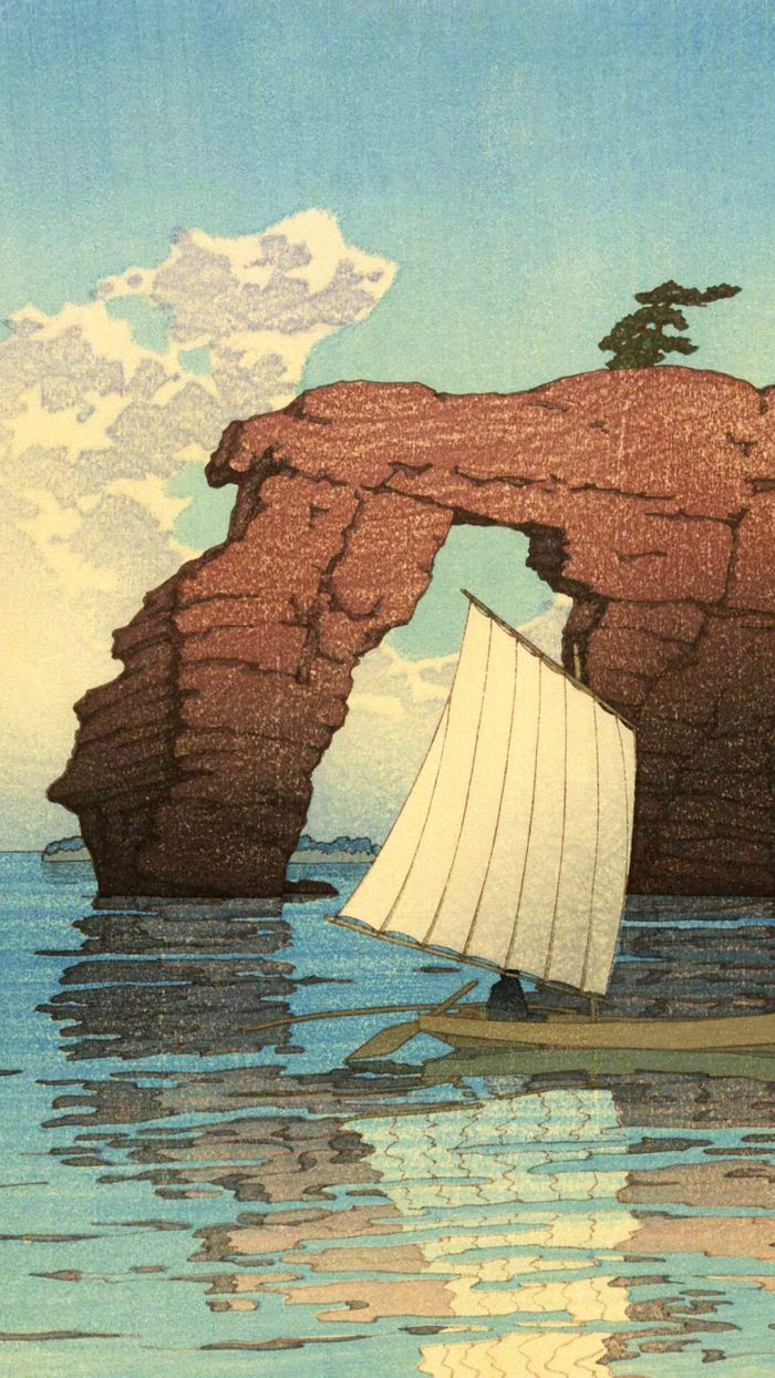Kawase Hasui-Matsushima zaimoku jima_1080x1920