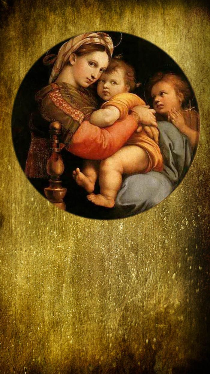 Raffaello Santi-Madonna della Seggiola2_1080x1920