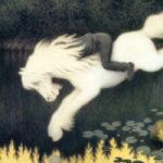 テオドール・キッテルセン / Boy on white horse