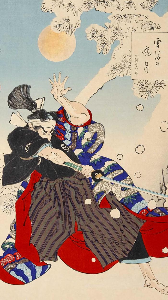 Tsukioka Yoshitoshi-Setsugo no gyogetsu kobayashi heihachiro_1080x1920