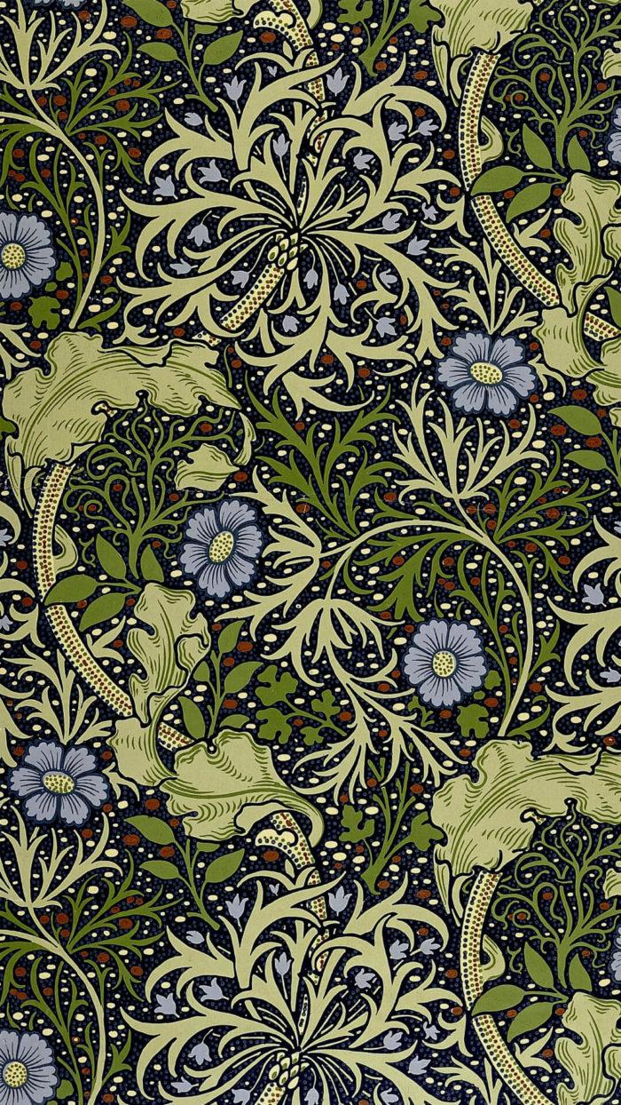 William Morris ウィリアム・モリス / Seaweed