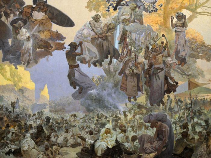 Alfons Mucha-Slavnost Svantovítova na Rujáně_2732x2048
