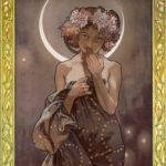 アルフォンス・ミュシャ / The Moon