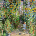 クロード・モネ / Monet's garden at Vetheuil