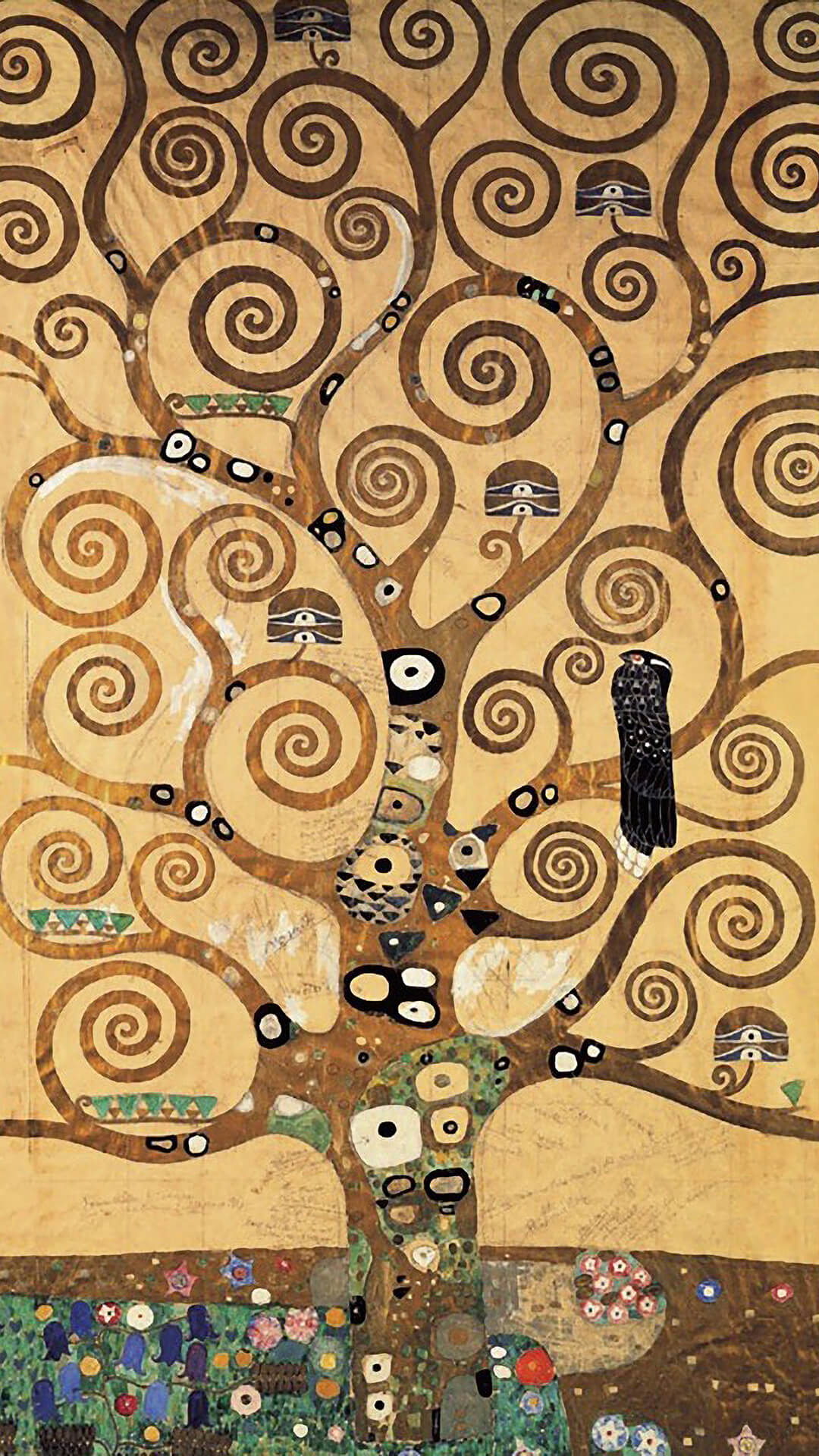 Gustav Klimt-The Tree of Life_1080x1920_2
