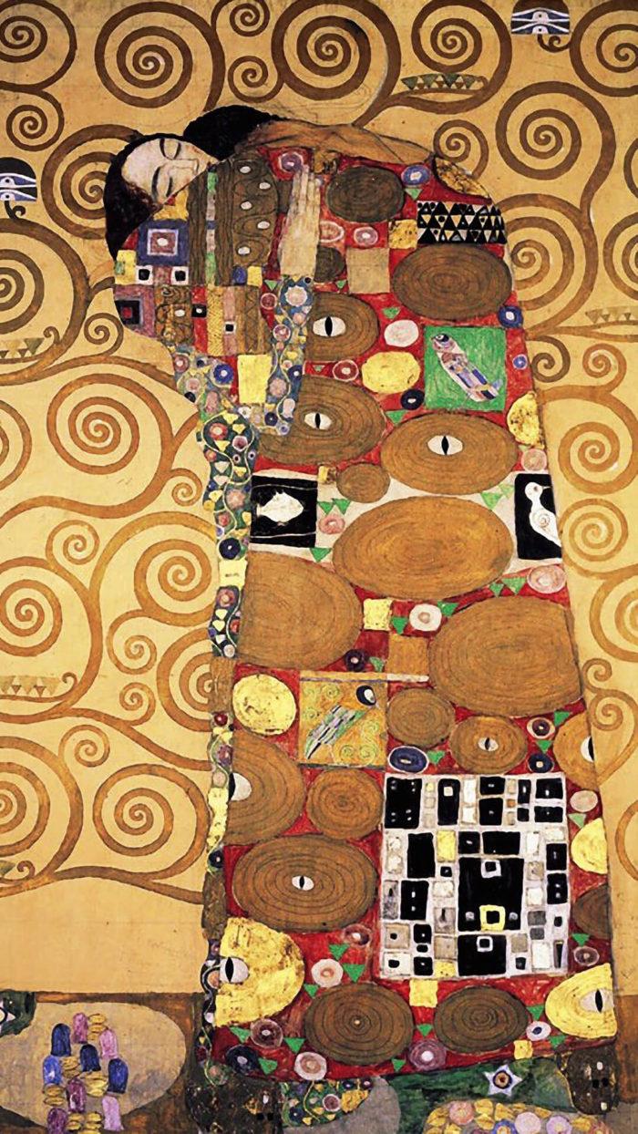 Gustav Klimt-The Tree of Life_1080x1920_3