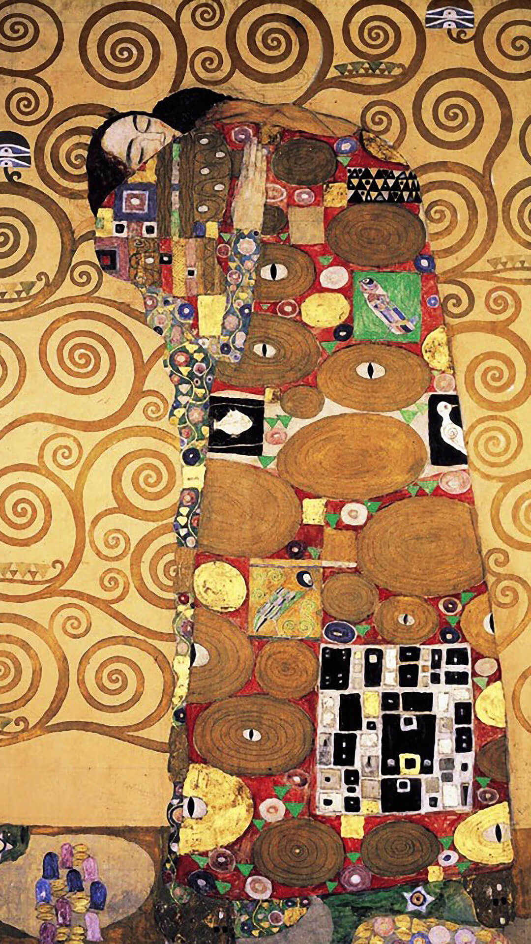 Gustav Klimt-The Tree of Life_1080x1920_3