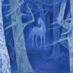 東山魁夷 / 白馬の森