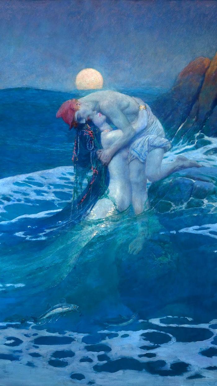 Howard Pyle_The Mermaid_1080x1920