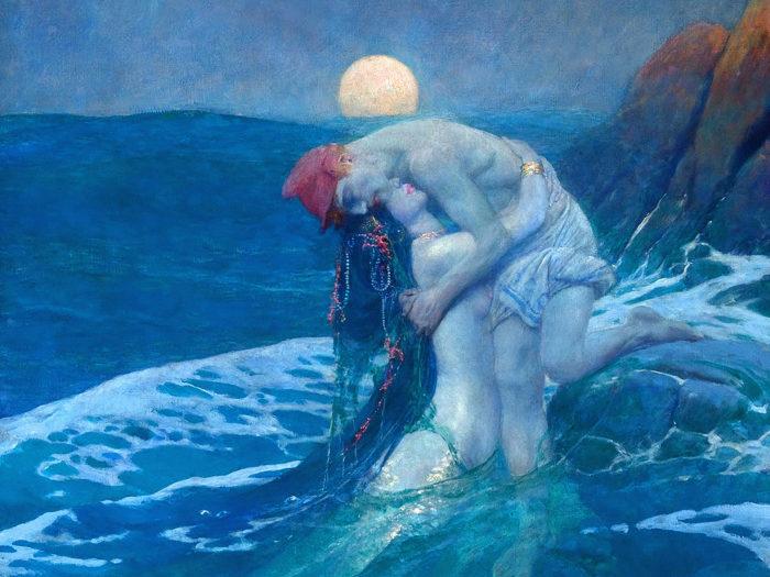 Howard Pyle_The Mermaid_2732x2048