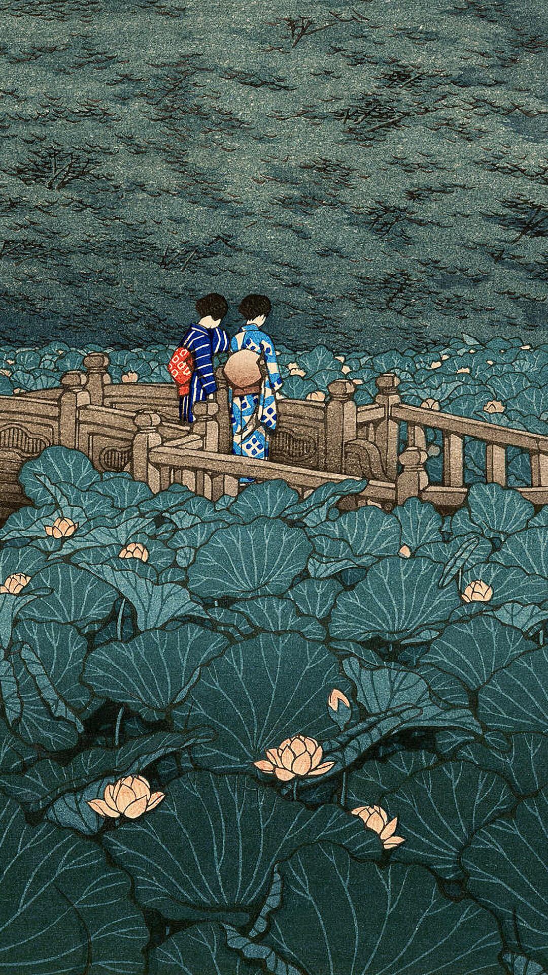 Kawase Hasui-Shiba benzaiten ike_1080x1920