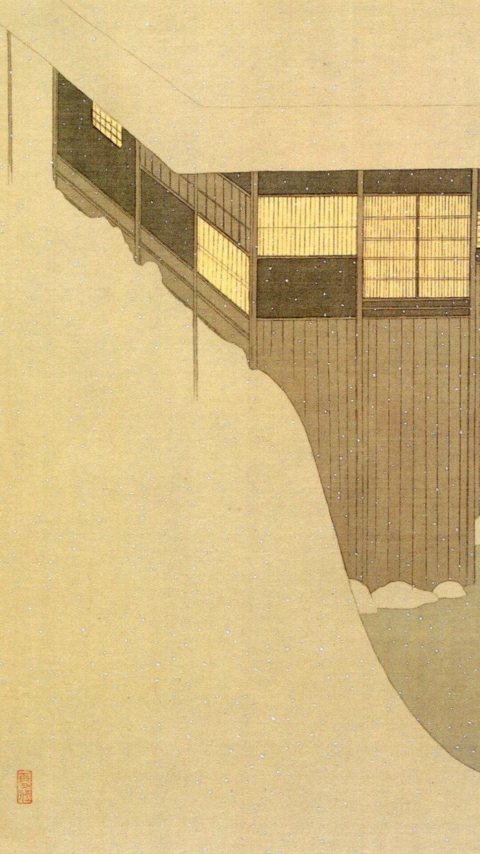 Komura Settai-Yuki no asa_1080x1920