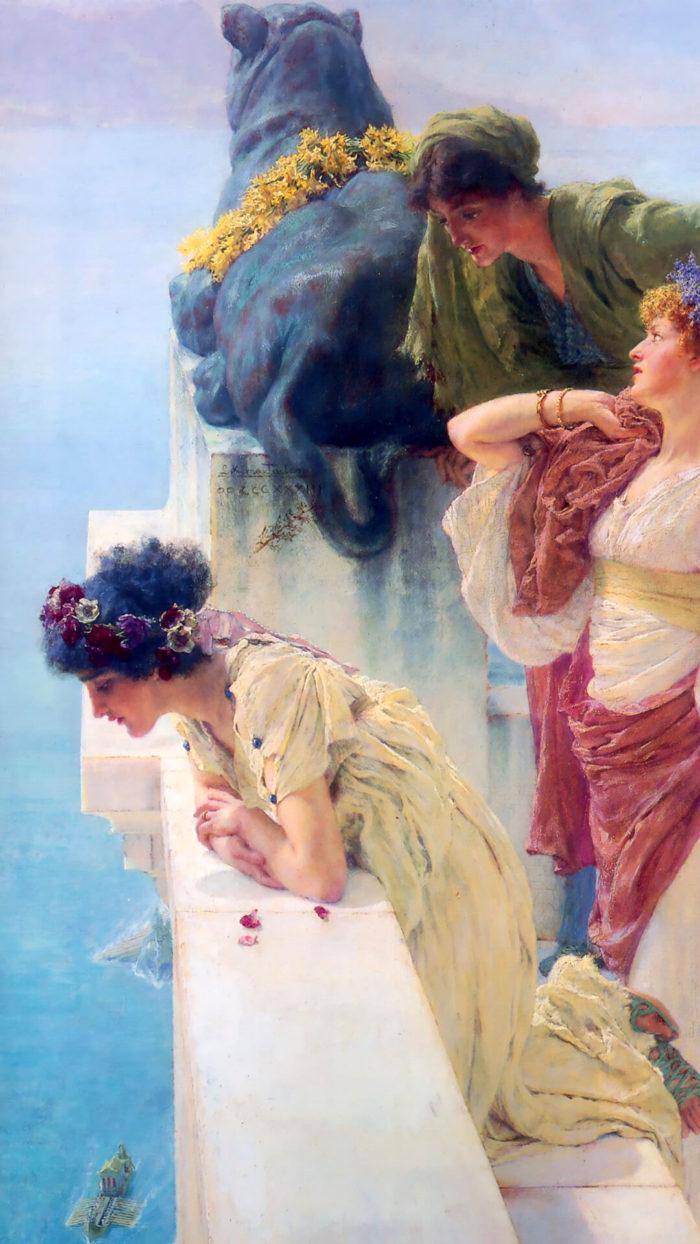 Lawrence Alma-Tadema_Position avantageuse_1080x1920
