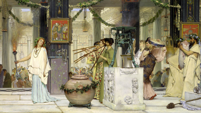 Lawrence Alma-Tadema_The vintage festival_1920x1080