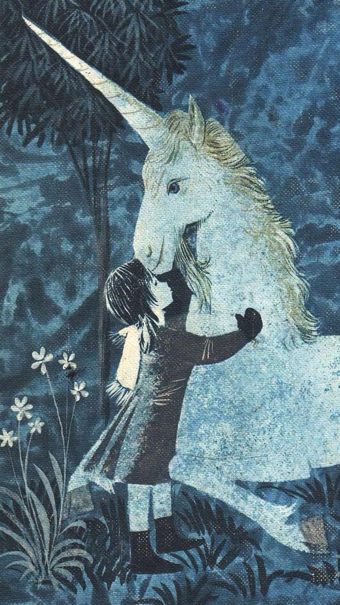 Leonard-Weisgard--Cynthia-and-the-Unicorn