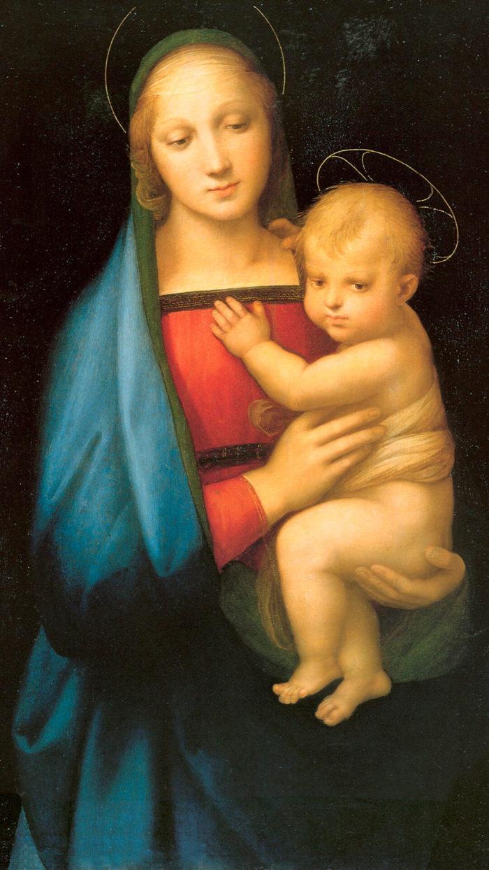 Raffaello Santi-Madonna del Granduca_1080x1920