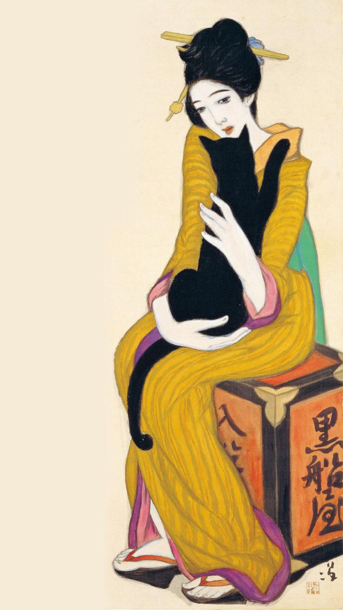 Takehisa Yumeji-Kurofuneya_1080x1920