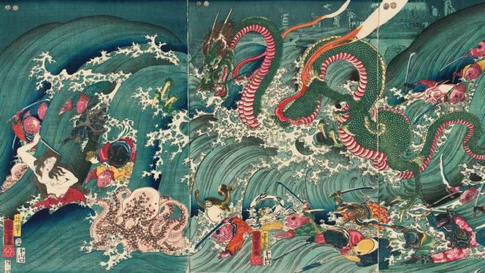 Utagawa Kuniyoshi_Ryugu tamatori hime no zu_1920x1080