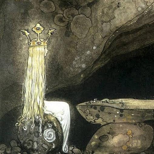 ヨン・バウエル - John Bauer (illustrator) - JapaneseClass.jp