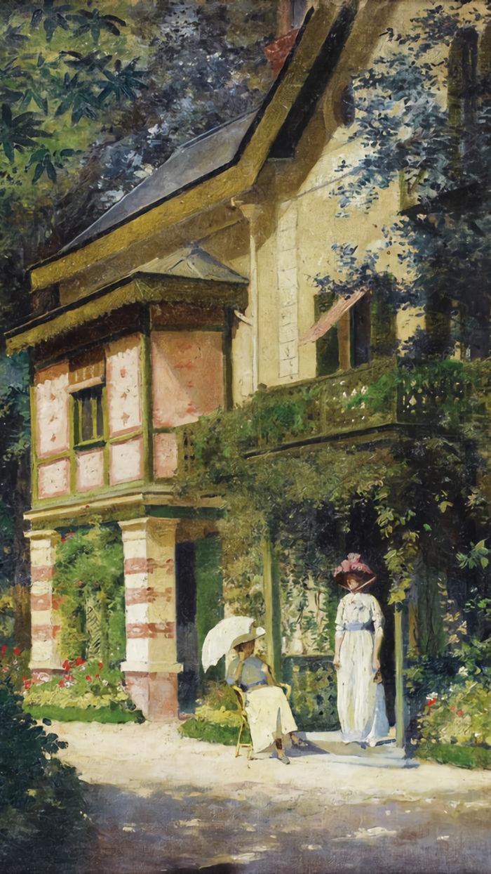 Roger-Joseph-Jourdain---Jour-d'été-dans-un-jardin-fleuri-1080x1920