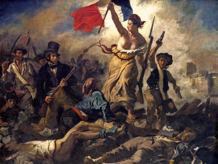 Eugène Delacroix - La liberté guidant le peuple 2732x2048