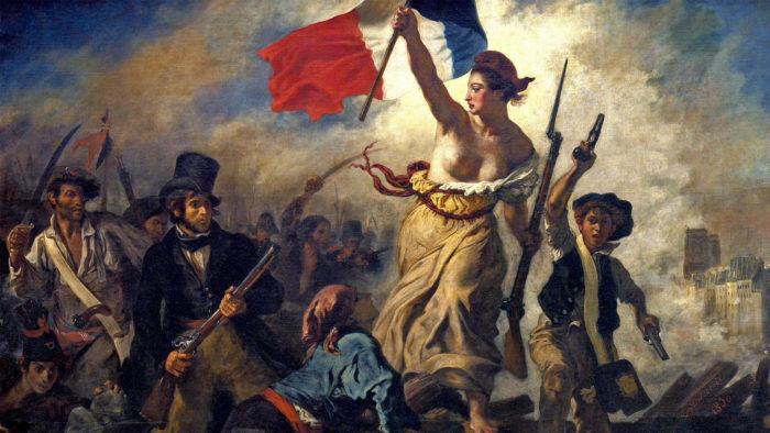 Eugène Delacroix - La liberté guidant le peuple 1920x1080