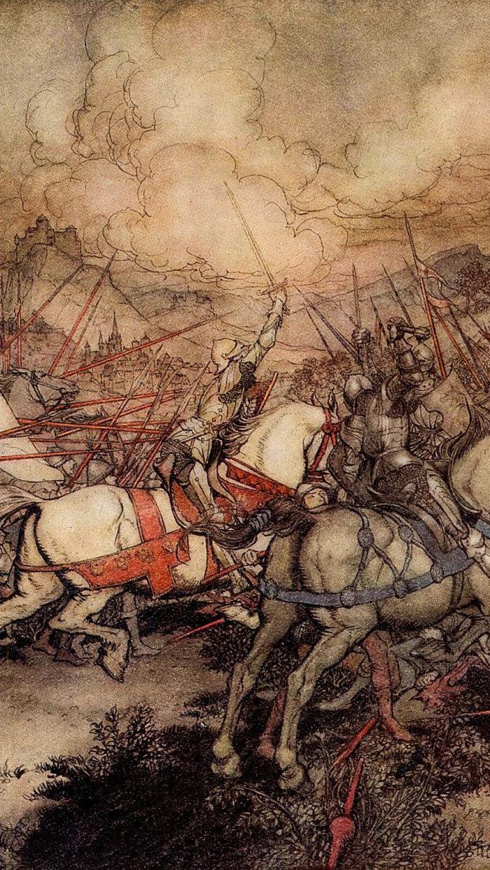 Arthur-Rackham---How-Arthur-drew-his-sword-Excalibur-for-the-first-time-1080x1920