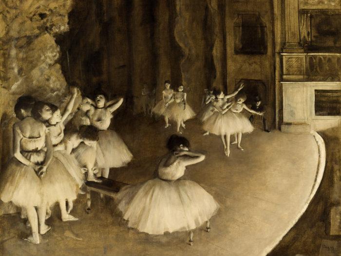 Edgar-Degas---Ballet-Rehearsal-on-Stage-2732x2048