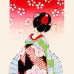 小林かいち / 舞妓と番傘