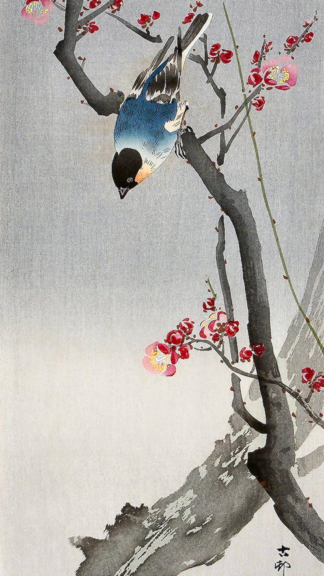 Ohara-Koson-Ume-to-aoi-tori-1080x1920