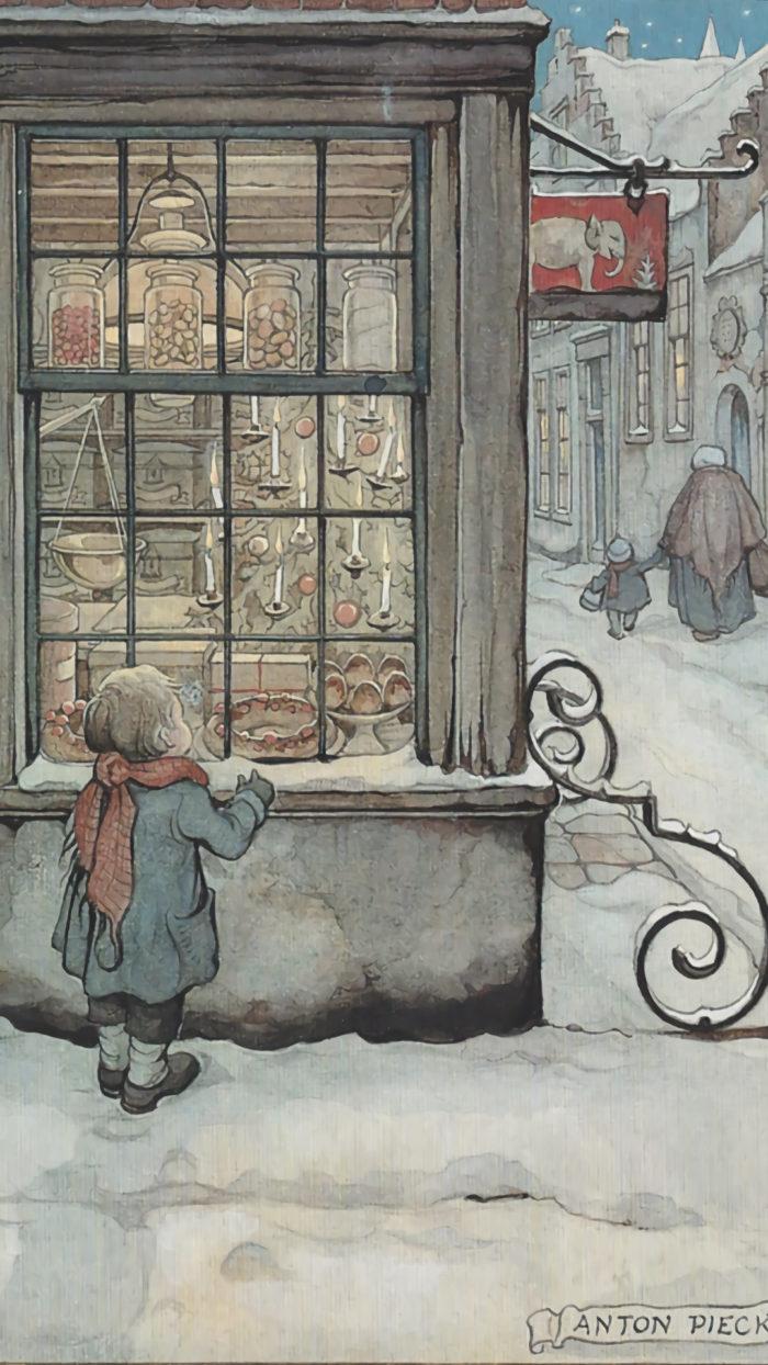 Anton Pieck - Window Shopping 1080x1920