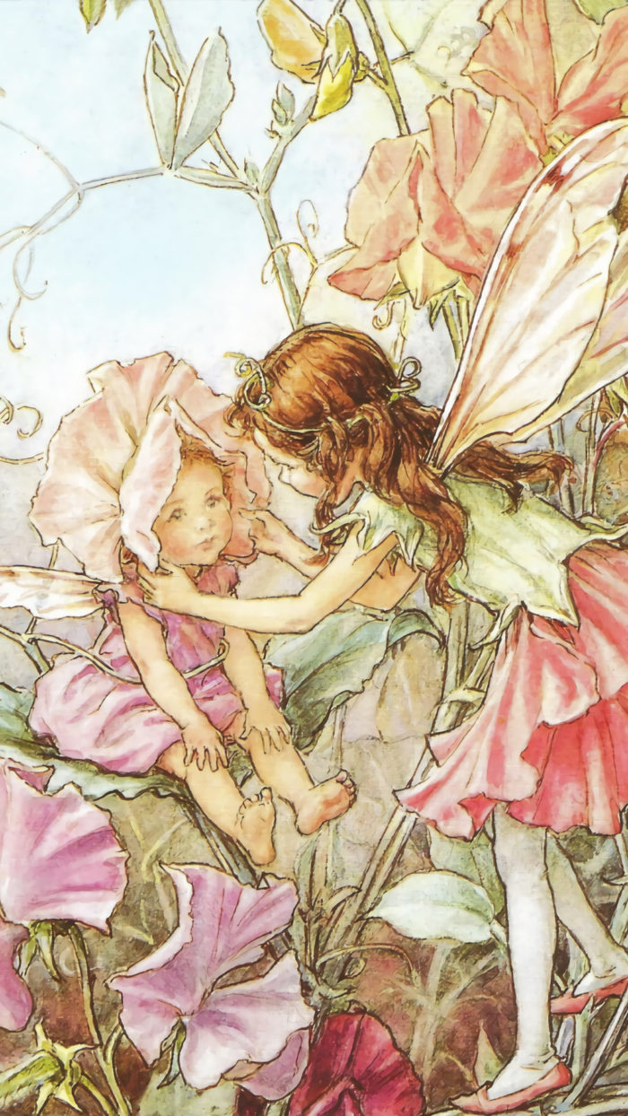 Cicely Mary Barker - sweet pea fairies 1080x1080