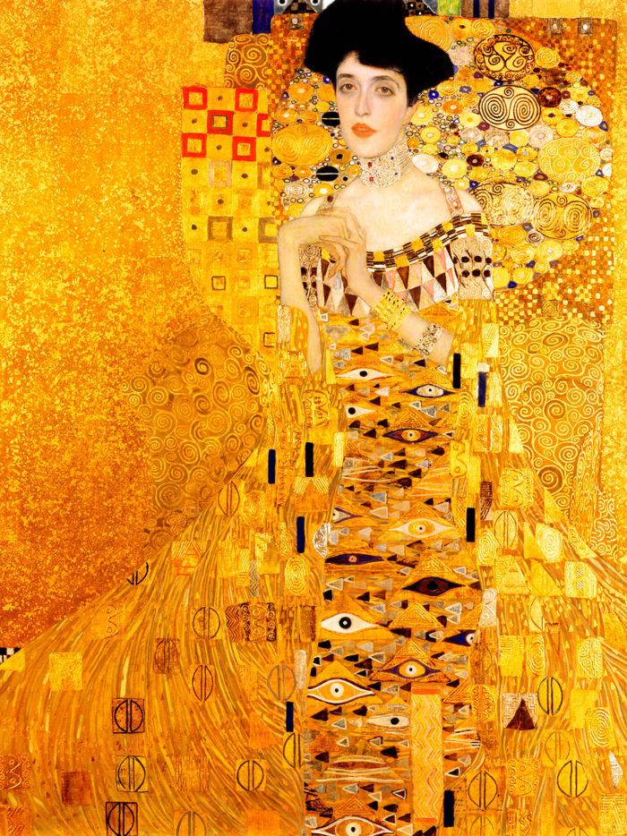 Gustav Klimt - Portrait of Adele Bloch-Bauer I 2048x2732