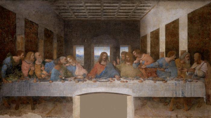 Leonardo da Vinci - L'Ultima Cena 1920x1080