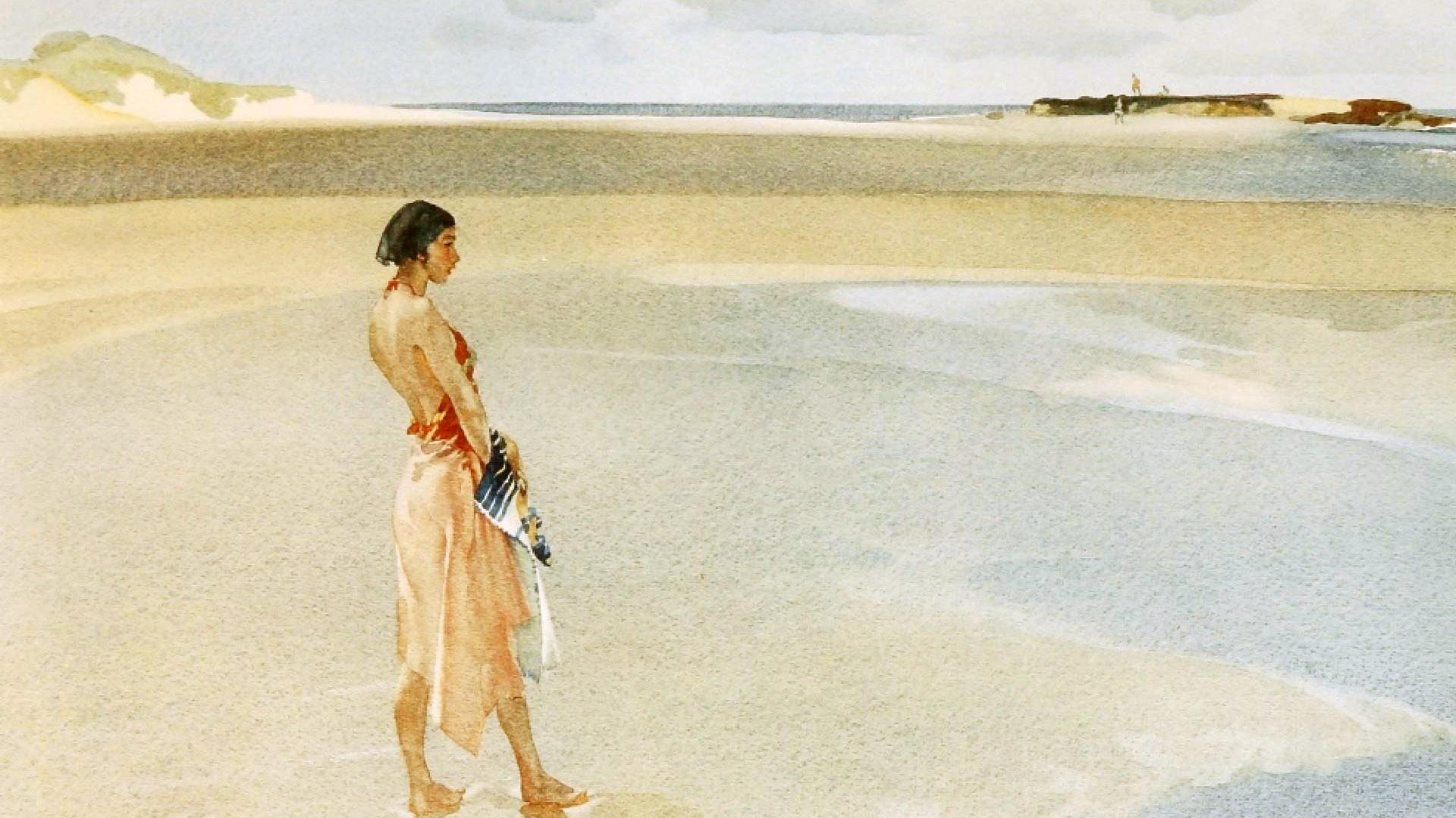 William Russell Flint - Far Horizon 1920x1080