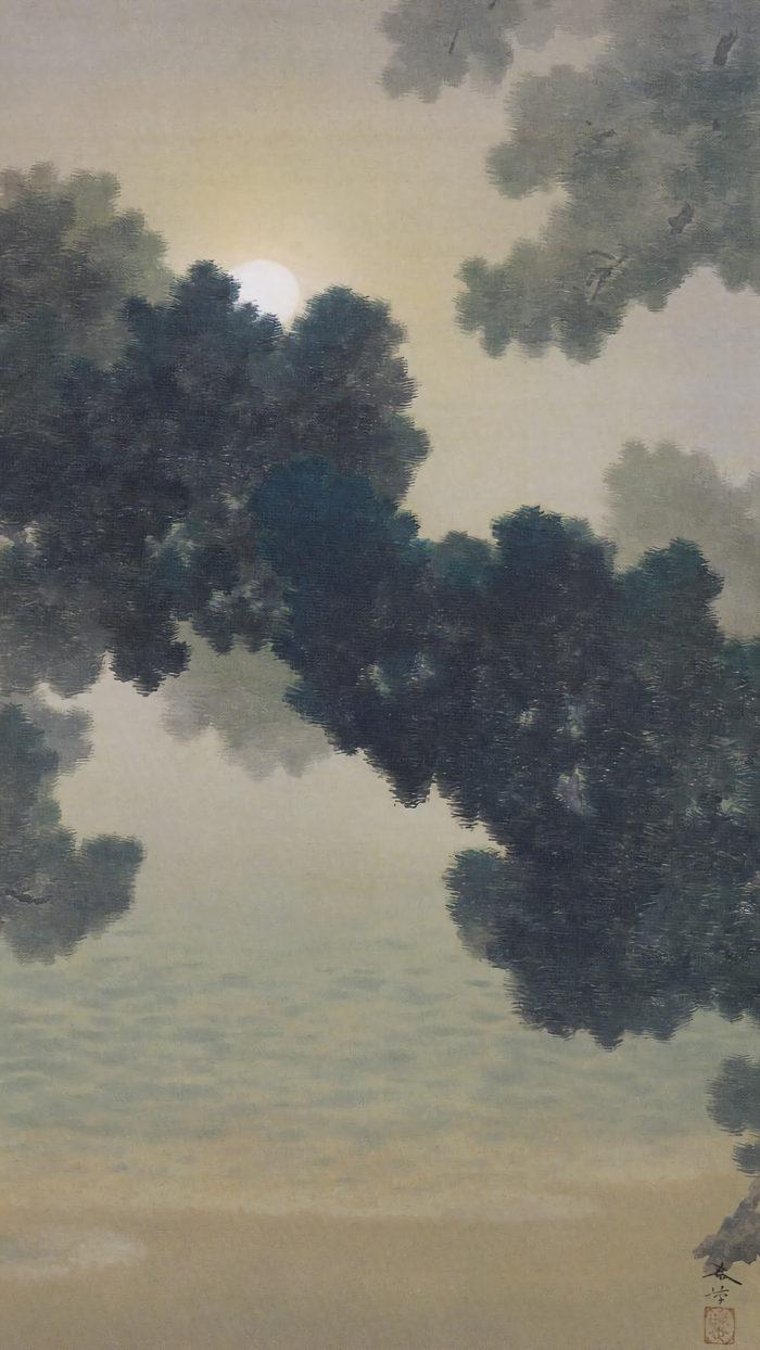 hishida shunso - Matsu ni tsuki 1080x1920