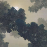 菱田春草 / 松に月