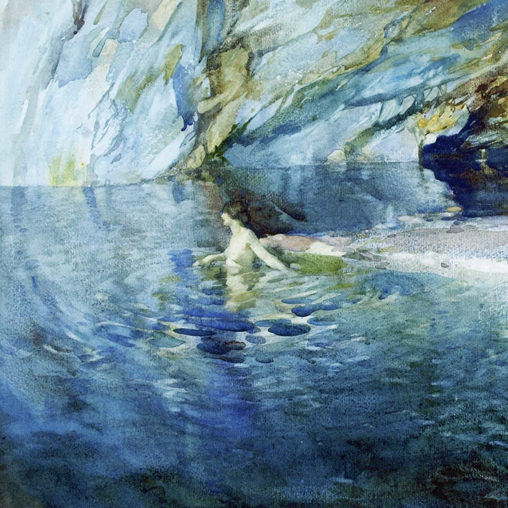 William Russell Flint – The Swimmer d