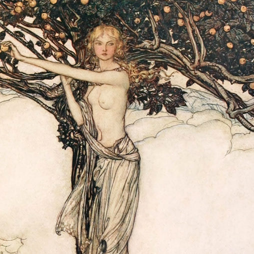 Arthur Rackham - The Rhinegold and the Valkyrie d